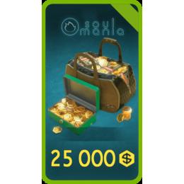 25000 Золота + БОНУС