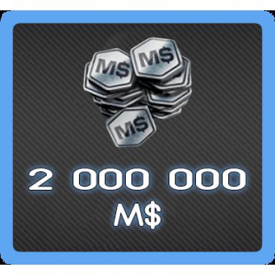 2 000 000 MS RR3