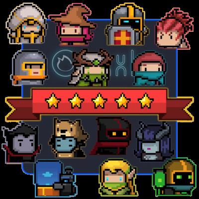 Открытие платных персонажей Soul Knight