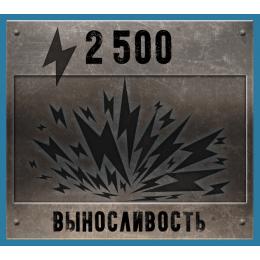 2 500 Выносливости