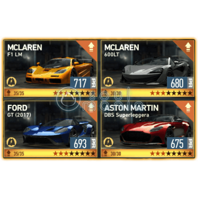 Машины NFS No Limits (Деньги Need For Speed NL Гонки)